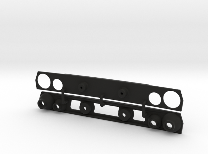 KCLD004 Delta grill 3d printed
