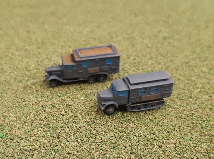 German Radiocars Henschel & KHD 1/285 3d printed