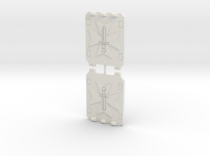 Sword Templar Light Vehicle Doors 3d printed