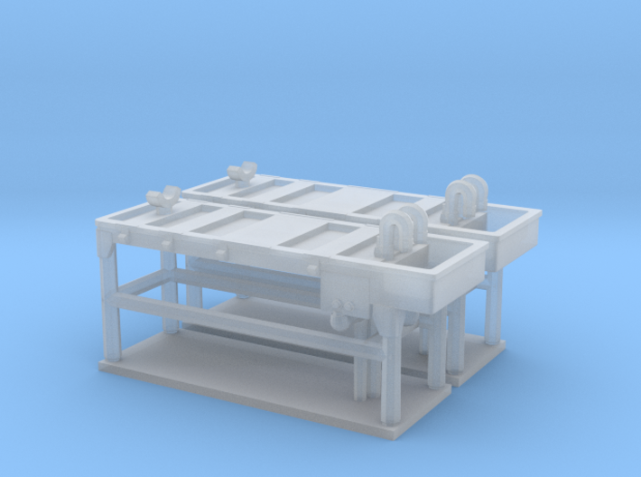 Autopsy Table 01. N Scale (1:160) 3d printed