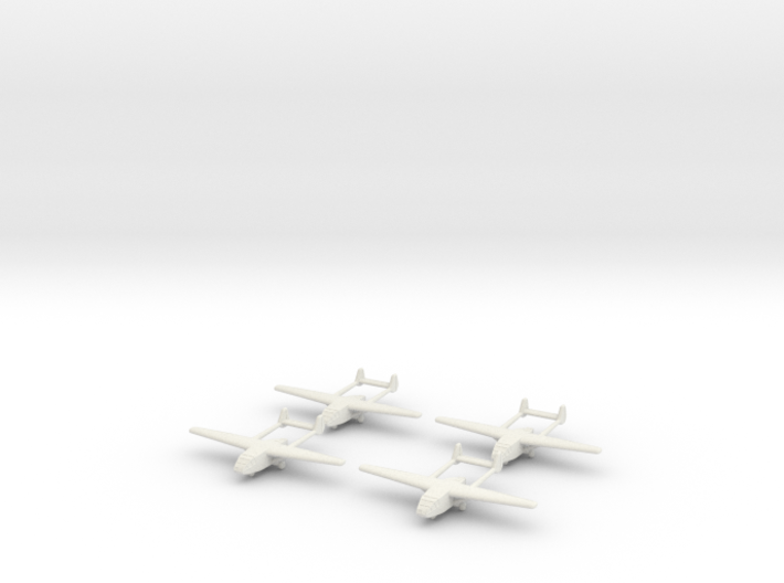 Go-242 German Glider 1/700X4 3d printed