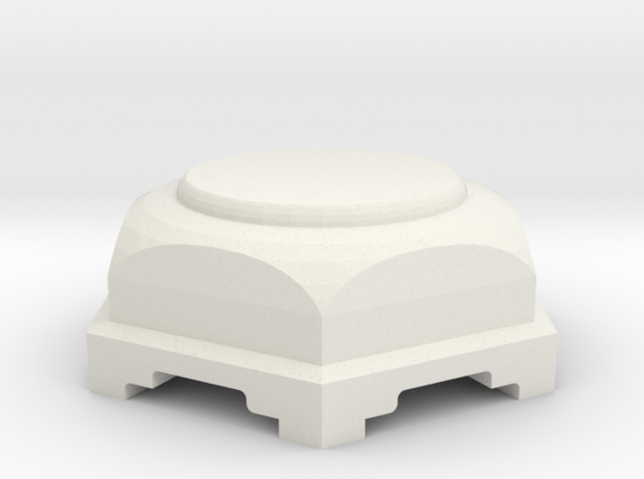 Pedestal for statue 3d printed