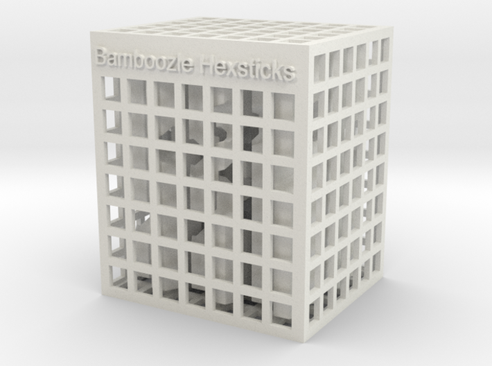 Bamboozle Hexsticks 3d printed