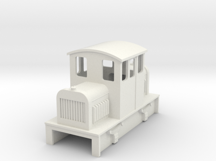 009 Centercab diesel loco 3a 3d printed