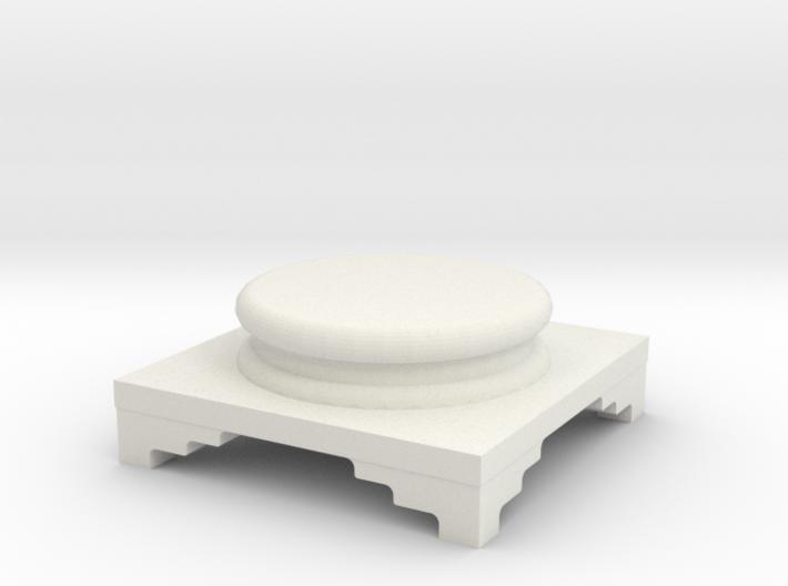 Pedestal for statue 3d printed