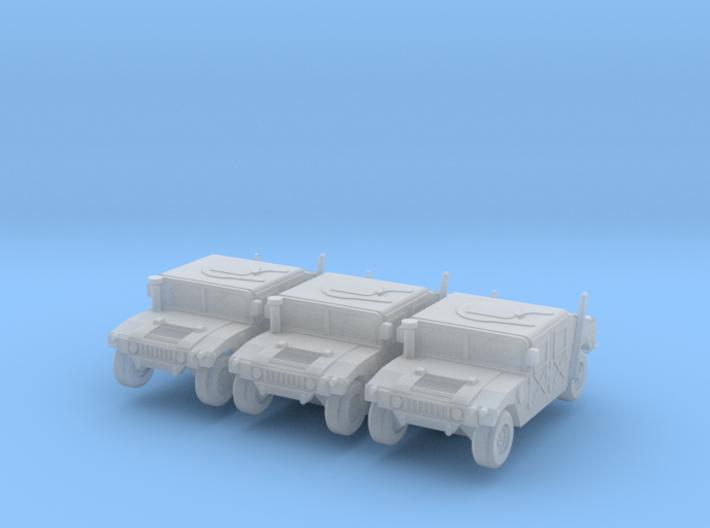 1/220 HMMWV models 3d printed