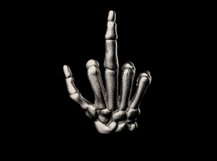 Middle Finger Keychain