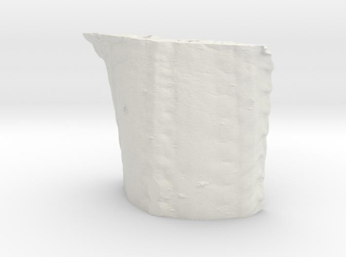 Radula, 1 million triangles, 5cm version 3d printed