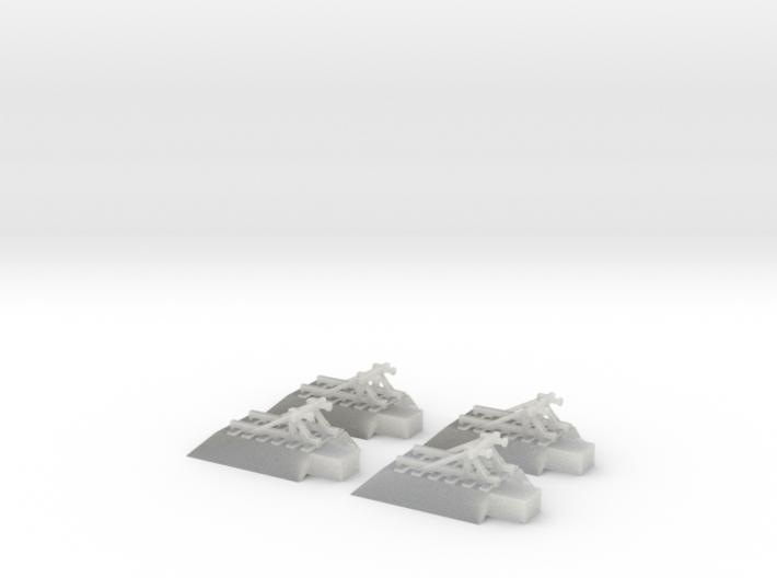T-Gauge - 4 x Buffers 3d printed