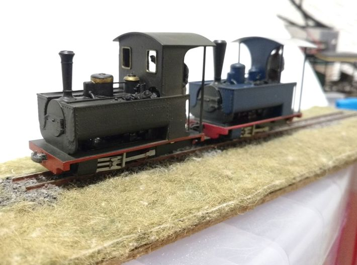 Couillet 2.5T (Based on the Minas de Barruelo loco 3d printed