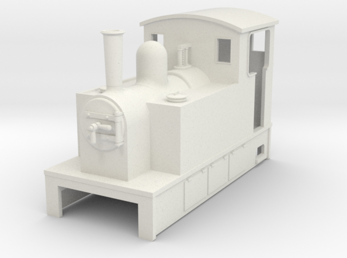 OO9 Cheap and Easy Tram Loco #1 3d printed