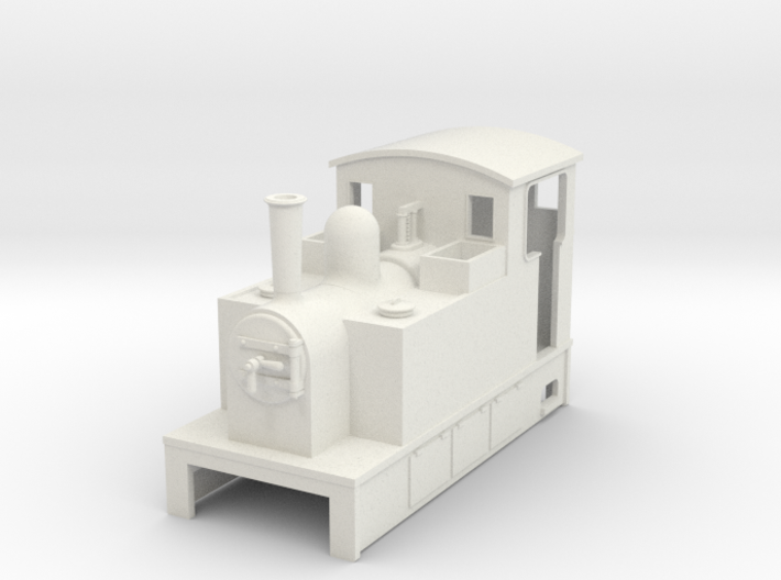 OO9 Cheap and Easy Tram Loco #1a 3d printed