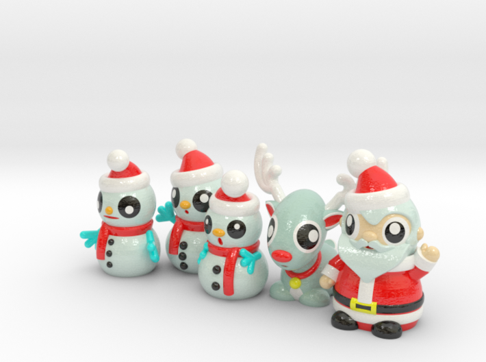 CHRISTMAS COLLECTION 1 3d printed