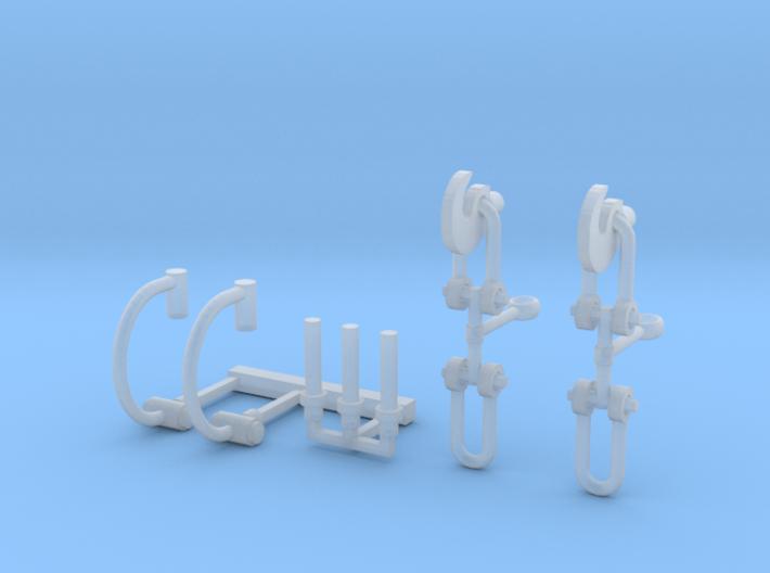 OO Scale Detail Pack 3d printed
