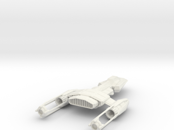 1/144 Puffin Heavy Deep Space Fighter 3d printed