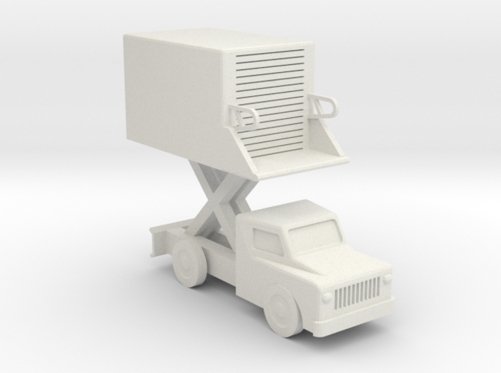 039A Catering Truck 1/144 3d printed