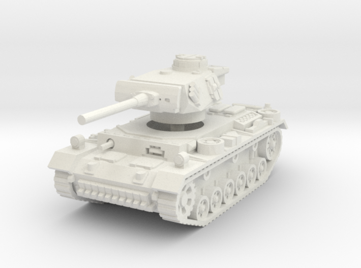 Panzer III M 1/56 3d printed