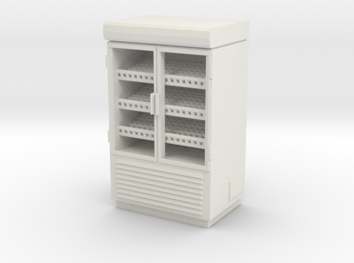 Grocery Fridge 02. 1:43 Scale 3d printed