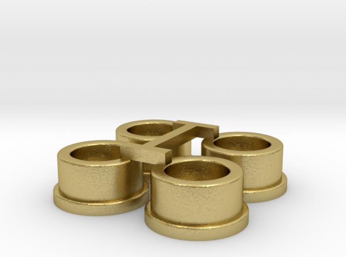 Felgen für Herpa-Lenkung, 4-fach 3d printed