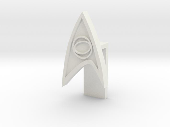 Laptop lense cover - Star Trek 3d printed