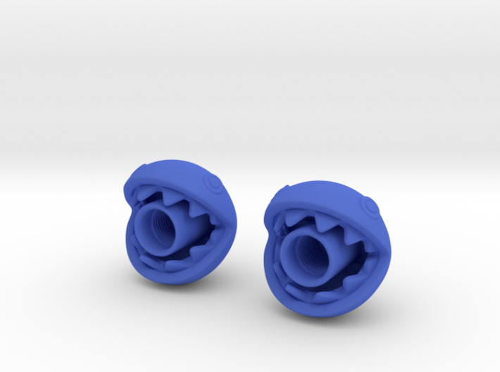 Chomp Head-Schrader-Pair - part 1 of 2 3d printed