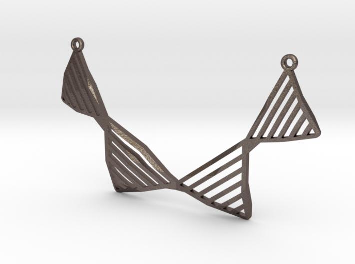 Geo Fysique Necklace 3d printed