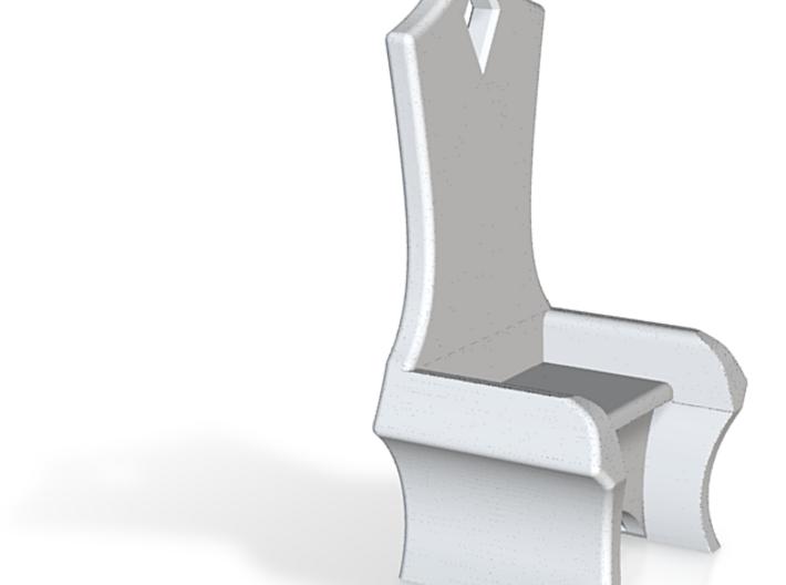 Eldar Chair - 1/4, 1/48, 25-30mm suitable 3d printed