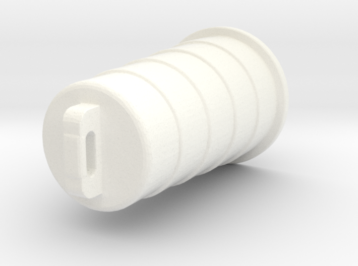 Construction Barrel 3d printed