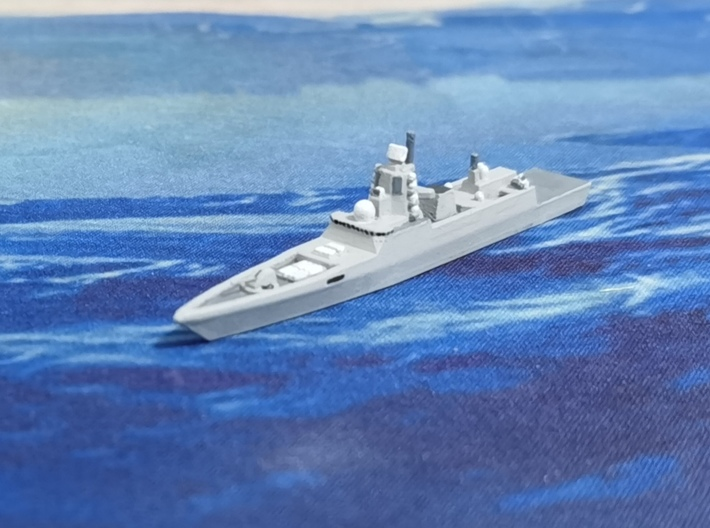 Admiral Gorshkov-class frigate, 1/1800 3d printed Painted Sample