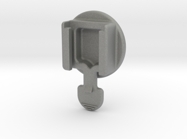 Superflash/Garmin Quarter-turn Adapter (2 styles) 3d printed