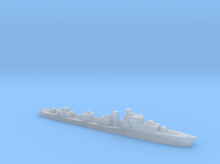 HMS Saumarez destroyer 1:4800 WW2 3d printed