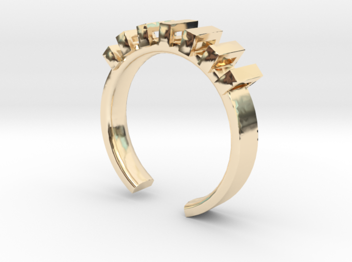 Lord Shackle Ring - Sz. 9 3d printed