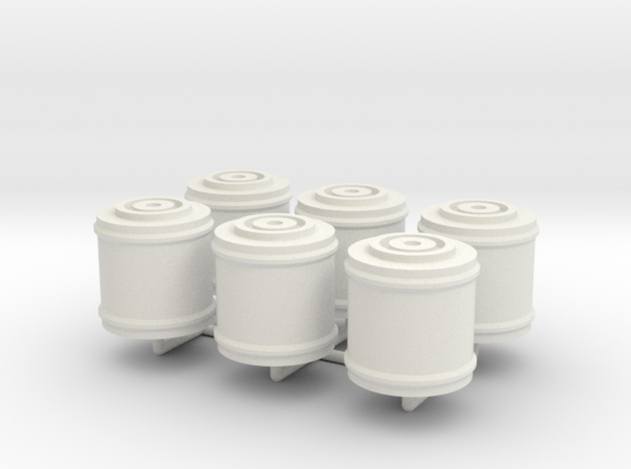 Space 1999 Canisters for Dinky Pallet Pod (6x on s 3d printed