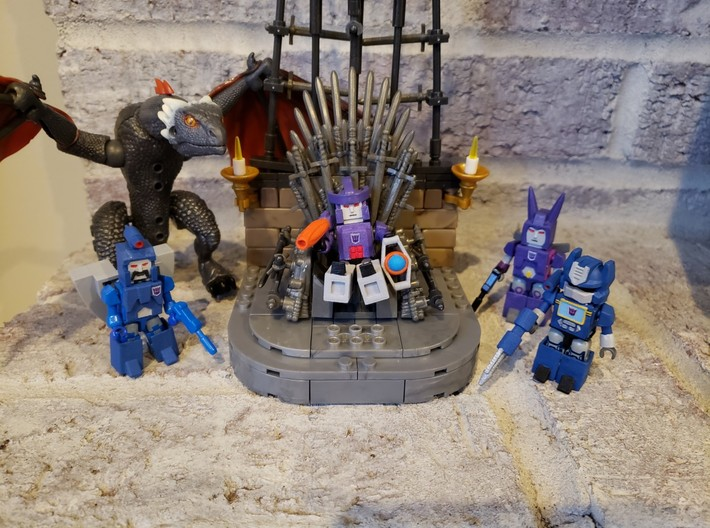 Armor for Galvatron,Scourge,Cyclonus Kreons (1/2) 3d printed Better GoT ending