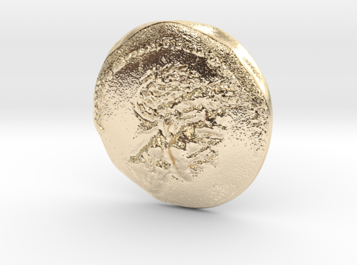 Ancient Roman Coin 3d printed