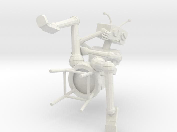 Depressed Robot V2 3d printed