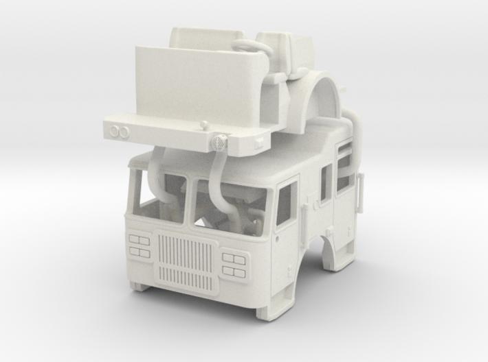 1/87 Seagrave Marauder II cab Raised Roof Updated 3d printed