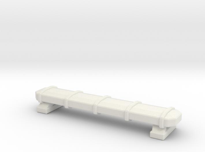 1/87 KME Tiller Lightbar 3d printed