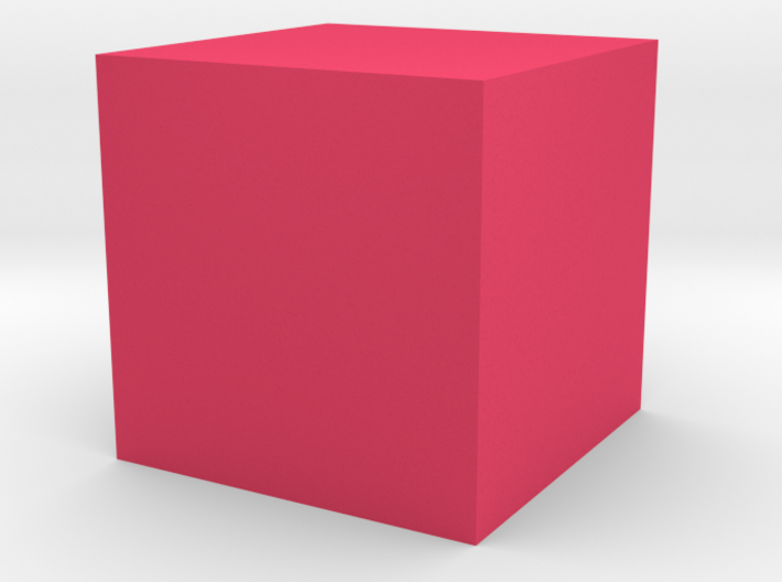cube 1 cm in Toys and Games 3d printed