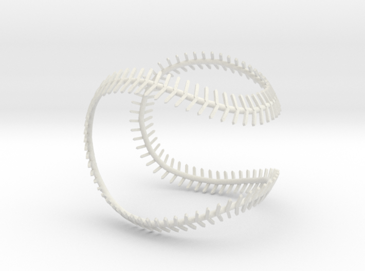 Implied Baseball 3d printed