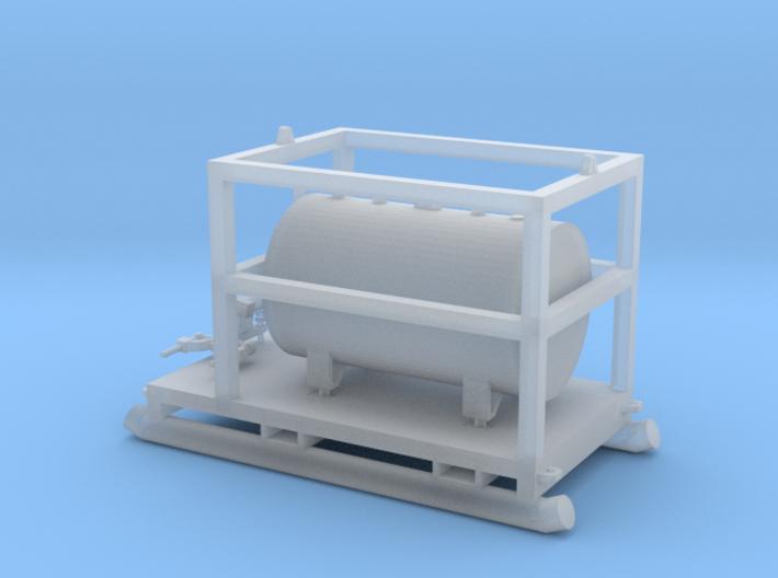 1:50 350 Gallon skid fuel tank 3d printed