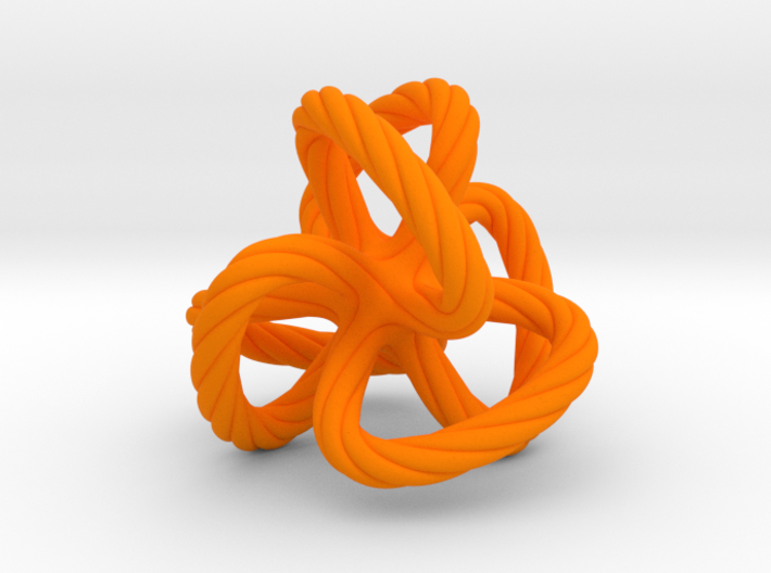 Dodecahedron quadroloop 3d printed