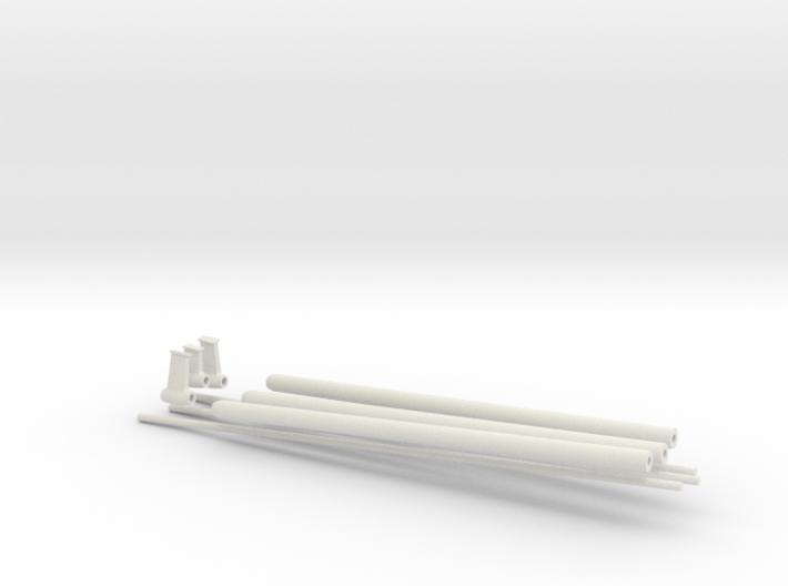 1/35 DKM Schnellboot Shaft SET 3d printed