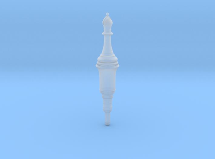Resident Evil 2 Remake Bishop Plug chess 3d printed