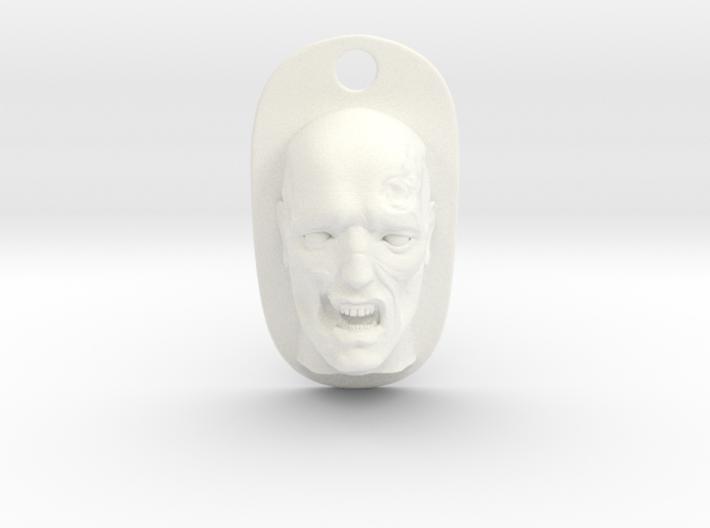 zombie keychain 3d printed