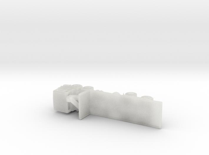 Pegaso 1086 Caja Baja Pluma escala N 3d printed