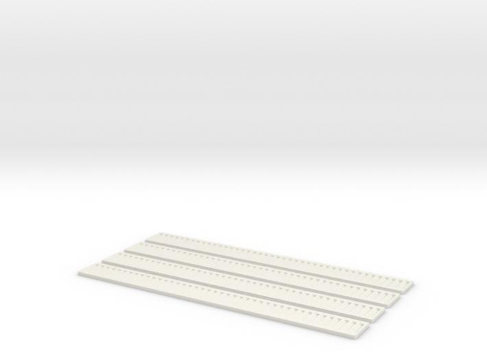 Bretterwand Boardswall 4 x 15 (4 x) 3d printed