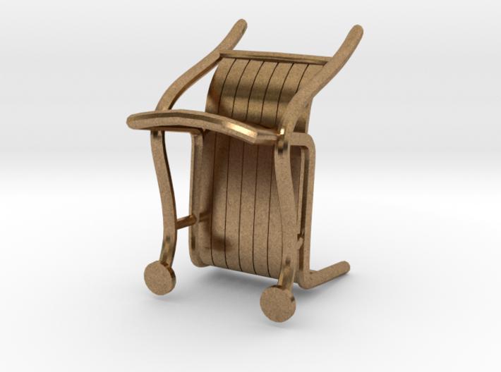 "ThinkingMan Chair - 1/4"" Model 3d printed"