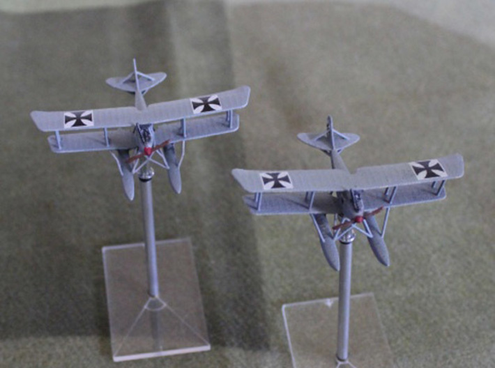 Rumpler 6B1 (various scales) 3d printed Photo and paint job courtesy BobP at wingsofwar.org