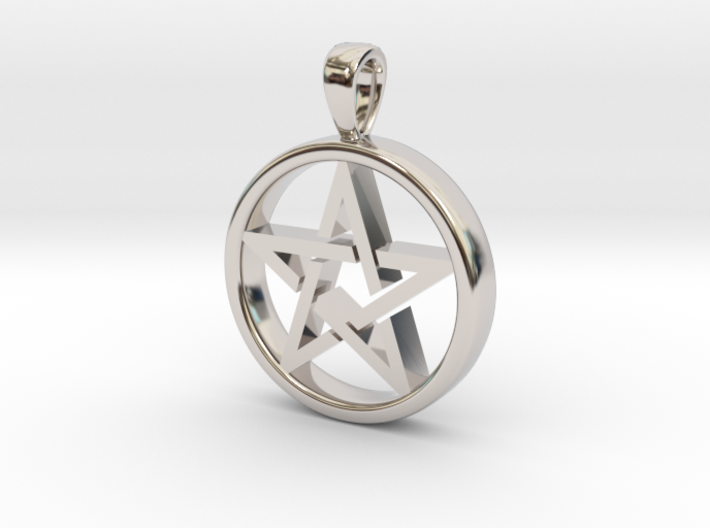Roosa's pendant 3d printed